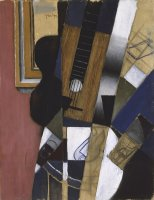 Guitar And Pipe by Juan Gris