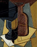 The Letter by Juan Gris