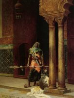 A Nubian Guard by Ludwig Deutsch