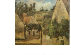 Crossroads at Auvers by Paul Cezanne