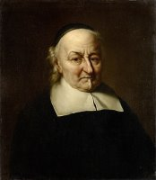 Portrait of The Poet Joost Van Den Vondel by Philips Koninck