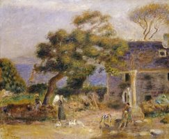 A View of Treboul by Pierre Auguste Renoir