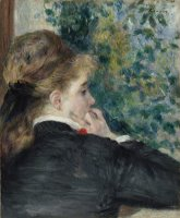 Pensive, La Songeuse Or Day Dreaming by Pierre Auguste Renoir