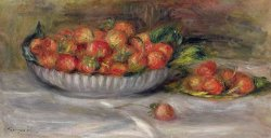 Still Life with Strawberries by Pierre Auguste Renoir