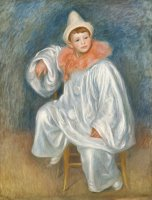 The White Pierrot by Pierre Auguste Renoir