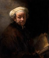 Self Portrait As The Apostle St Paul by Rembrandt