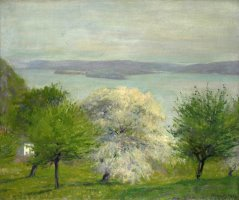 Apple Bloom by Robert William Vonnoh