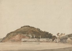 Headland on The Coast of South Devon, Possibly Shaldon by Thomas Girtin