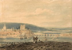 View of Rochester by Thomas Girtin