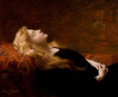 Sleeping Beauty by Victor Gabriel Gilbert