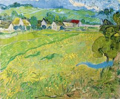 Les Vessenots a Auvers by Vincent van Gogh