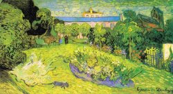 The Garden of Daubigny by Vincent van Gogh
