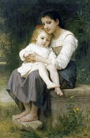 Big Sister (1886) by William Adolphe Bouguereau