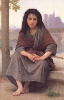 The Bohemian by William Adolphe Bouguereau