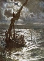 Jesus Walking Upon The Sea by William Brassey Hole