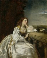 Juliet, O That I Were a Glove Upon That Hand by William Powell Frith
