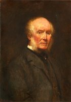 Self Portrait at The Age of 83 by William Powell Frith